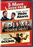 DVD : Ride Along / Tower Heist / 2 Guns 3-Movie Laugh Pack