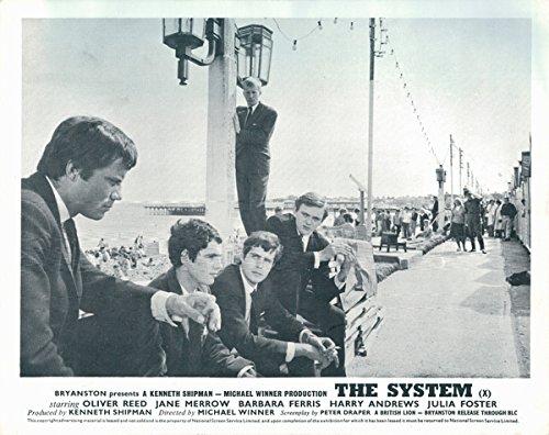 The System Original British Lobby Card Oliver Reed Brighton Pier Beach