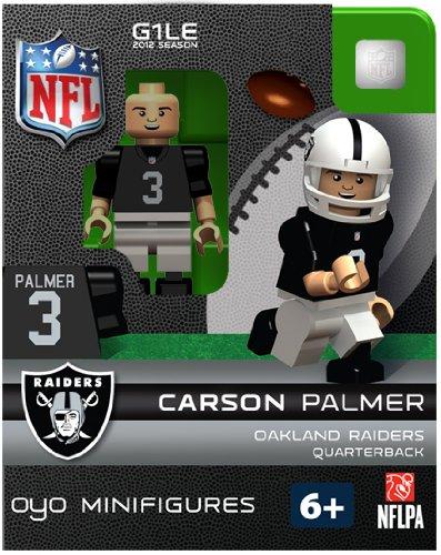 OYO Football NFL Building Brick Minifigure Carson Palmer [Oakland Raiders]