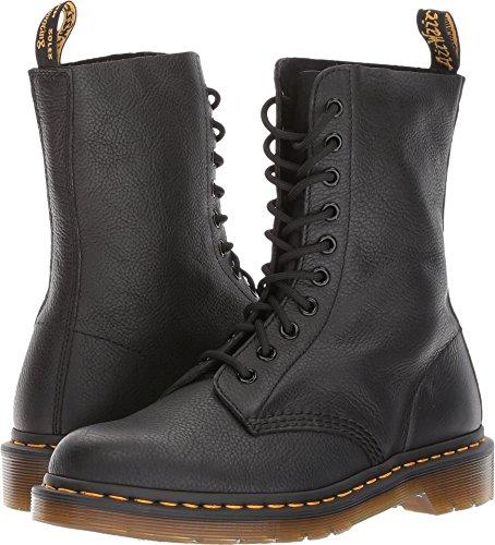 Dr. Martens Women's 1490 10 Eye Boot, Black,