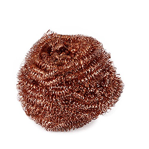 JPJ(TM) New❤Cleaner Ball❤1pcs Creative Soldering Solder Iron Tip Cleaner Steel Cleaning Wire Ball Heavy Duty Welding (Gold) from ❤JPJ(TM)❤️_Home decoration