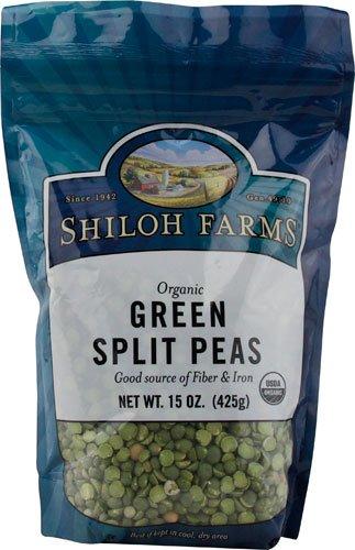 Shiloh Farms Organic Green Split Peas -- 15 oz - 2 pc by Shiloh Farms
