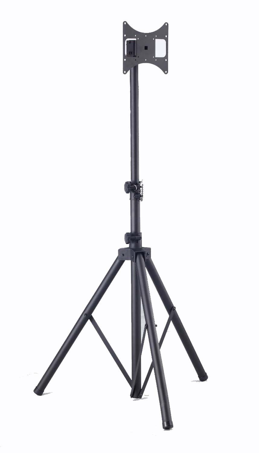 Elitech Steel Portable Plasma or LCD TV Tripod Stand for up to 37'' Flat Panel TV, Height Adjustable. Max Stand Height 70''