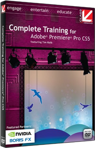 class-on-demand-complete-training-with-adobe-premiere-pro-cs5-educational-training-tutorial-dvd-rom-