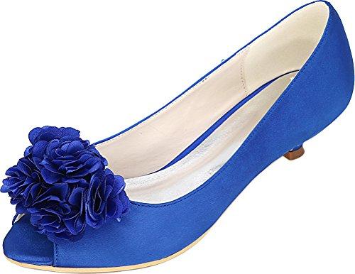 CFP Bout Ouvert Bleu Bout CFP Femme rf8rRn