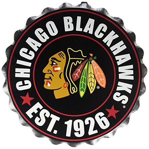 FOCO Chicago Blackhawks 2016 Bottle Cap Wall Sign