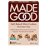 MadeGood Chocolate Chip Soft Mini Cookies, 120g