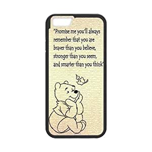 """iPhone 6 Case ,Case for Apple iPhone 6 ,Winnie the Pooh Wallet Case for iPhone 6,Case Cover Fit For Apple iPhone 6 4.7"""",PC and TPU Screen Protector For Apple iPhone 6 4.7"""""""