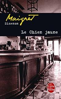 Le chien jaune, Simenon, Georges