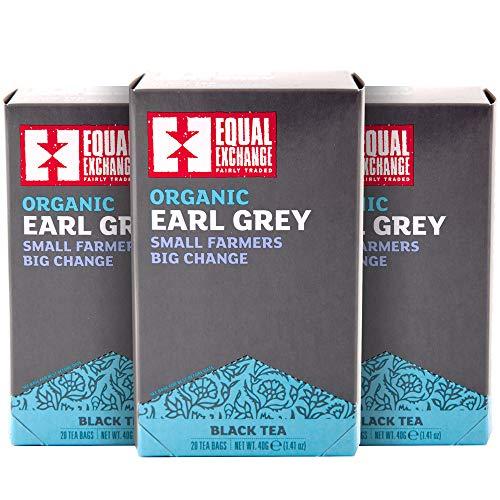 Equal Exchange Organic Earl Grey Tea, 20-Count (Pack of 3)