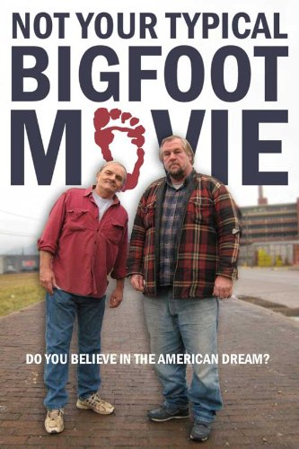 Not Your Typical Bigfoot Movie Poster Movie 11x17