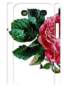 Flower Design Kawaii Rose 3D Print Slim Phone Snap On Case for Samsung Galaxy S3 I9300