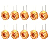 uxcell 10Pcs Vertical Toroid Magnetic Inductor