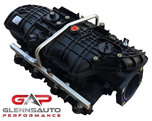 Glenn's Auto Performance New TBSS Intake Manifold w/Fuel Rails & 36lb/hr Injectors (Best Intake Manifold For Lq9)