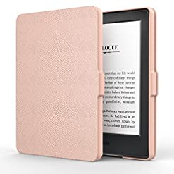 MoKo Case for All-New Kindle E-reader (8th Generation 2016) – The Thinnest and Lightest SmartShell Cover with Auto Wake…