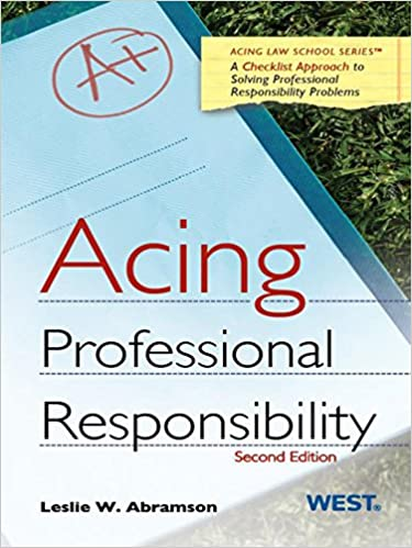 Study Aids - Online - Professional Responsibility