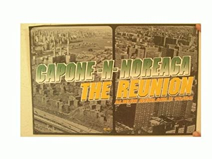 amazon com capone n noreaga poster the reunion capone n and