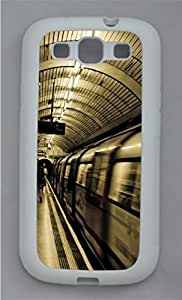 Architecture 62 PC Hard Silicone Case Cover for Samsung Galaxy S3 I9300 White