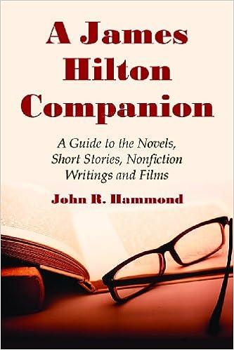 Enkel bok nedlasting gratis A James Hilton Companion: A Guide to the Novels, Short Stories, Non-Fiction Writings and Films (Norsk litteratur) DJVU 0786438444