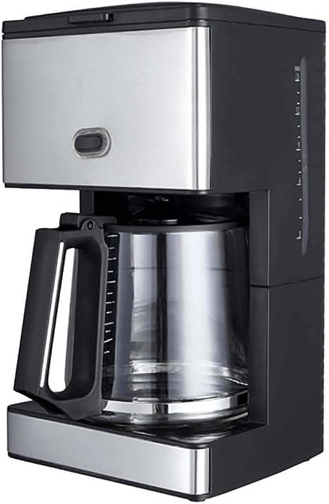 RUIXFCA Cafetera Goteo Coffee con Filtro Reutilizable, Capacidad 1,5l (12 Tazas), Función Recalentar y Mantener Caliente, Jarra Termoresistente, Boquilla Antigoteo: Amazon.es: Deportes y aire libre