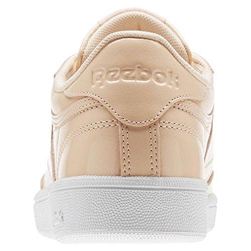 Reebok Club C 85 Patent, Zapatillas de Tenis Para Mujer Rosa