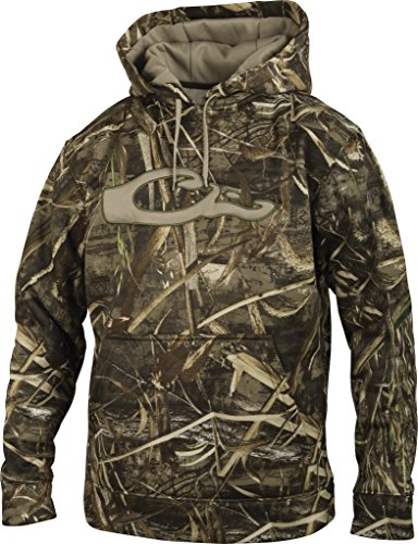 Drake  Men's MST   Realtree Max-5 Performance Hoodie, XX-Large