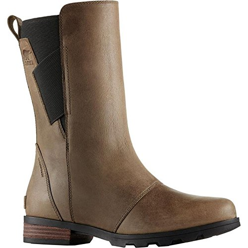 SOREL Emelie Mid Boot - Women's Major/Black, 7.5 by SOREL