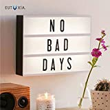 Eutuxia Cinematic Light Box with Letters - LED