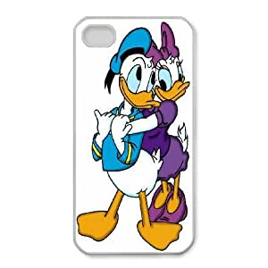 iphone4 4s Phone Case White Donald Duck WQ5RT7451846