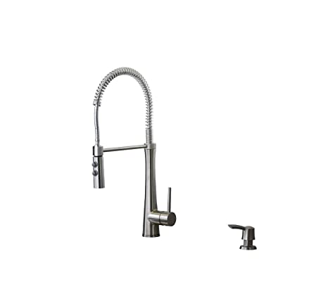 Giagni Fresco Stainless Steel Pull-Down Kitchen Faucet