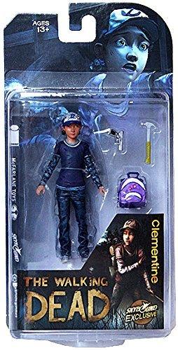 McFarlane Toys The Walking Dead Clementine Action Figure (Clean Version)