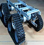 Firgelli Automations Crawler Mobile Base Kit - 4 Tracks