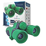 Binoculars for kids by ThinkPeak Toys - 8x21 High-Resolution Compact Shockproof Kids Binoculars with Strap - Best for Bird Watching, Hiking, Outdoor Camping, Star Gazing, SPY, Educational Learning Toy
