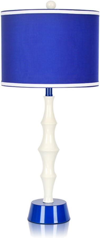 Lily Moderna Lampada Da Tavolo Blu Moda Lampada Da Comodino Con Paralume In Tessuto A Doppio Strato Di Alta Qualita Lampada Da Camera Per Bambini Amazon It Illuminazione