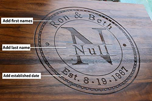 Anniversary Gifts, Wedding Gifts, Personalized Cutting Board, Engagement Gift, Anniversary gift for Men, Gift for her, Valentine's Day Gift, Wooden Cutting Board, Present For mom