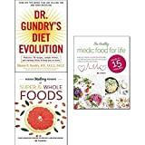 img - for Dr. gundry's diet evolution, hidden healing powers of super & whole foods and healthy medic food for life 3 books collection set book / textbook / text book