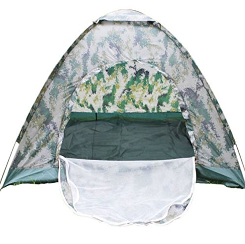 Tent Folding Camouflage Hiking Camping Waterproof 4 Person Outdoor 4 Season