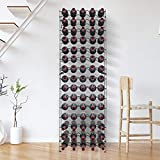Sorbus Wine Rack Stand - Holds 75 Bottles of Your