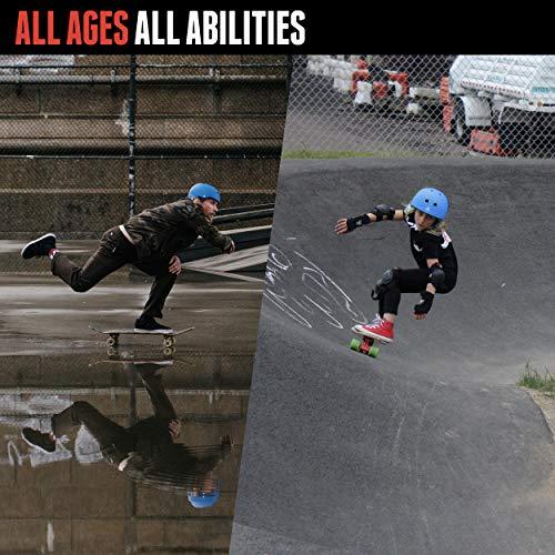 Triple Eight Sweatsaver Liner Skateboarding Helmet, Black Rubber w/ Red, Medium