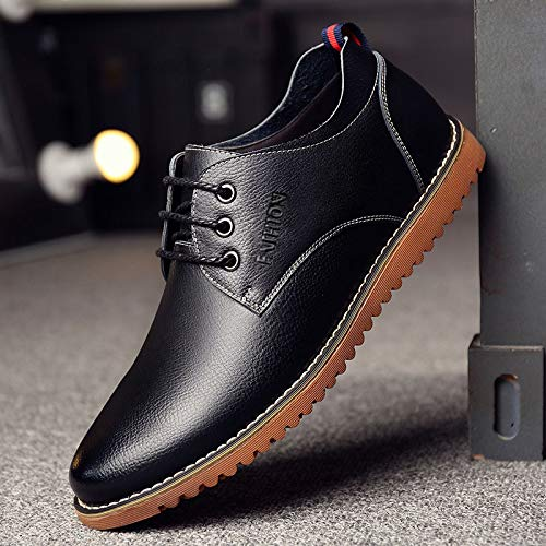 LOVDRAM Stiefel Männer Männer Schuhe Männer Männer Männer Business Casual Schuhe Herbst Mode Einzelne Schuhe Leder Herren Leder Schuhe cd9975