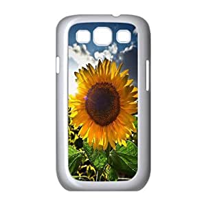 Sunflower Customized Cover Case for Samsung Galaxy S3 I9300,custom phone case ygtg562246