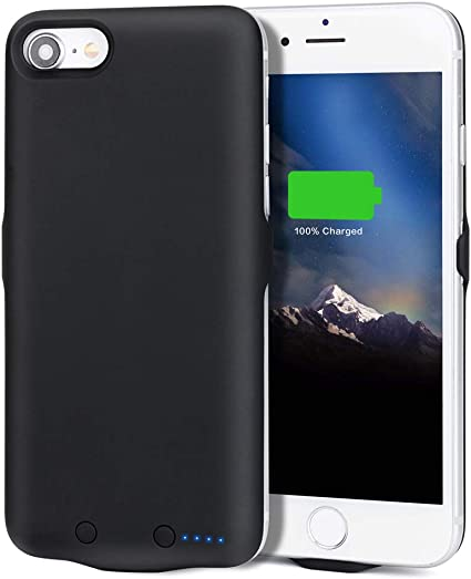 Amazon.com: iPhone 7/iPhone 8 Funda de Cargador de batería ...