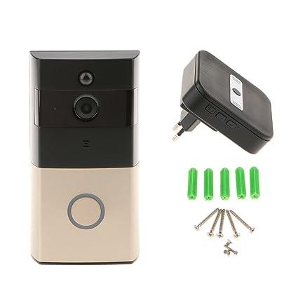 Sharplace Timbre de Puerta en Tiempo Real Sensor de Movimiento Infrarrojo Través de Aplicación de Seguridad