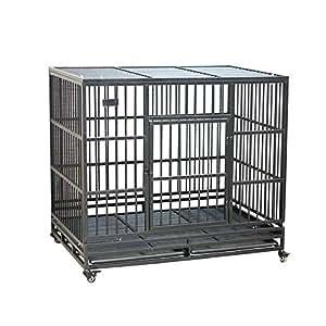 Jaula para Perros Plegable Perro Grande Suministros para