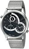 August Steiner Men's AS8168SSB Analog Display Quartz Silver Watch