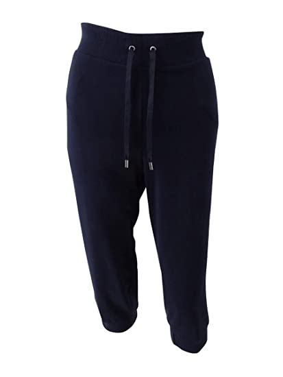 57e3acfd6ce84e Image Unavailable. Image not available for. Color  LAUREN RALPH LAUREN  Women s Cropped Jogger Pants (M ...