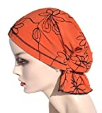 Chemo Cap Beanies, Cotton Knit, Easy Pretied Cancer Turban Headwear for Women, Hair Loss Patients