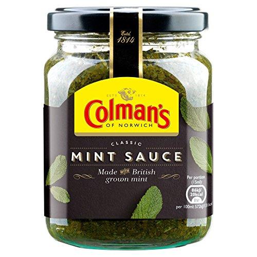 Colmans Classic Mint Sauce (3 Pack) 165 grams Per Jar by Colman's (Image #1)