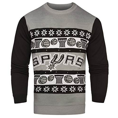 San Antonio Spurs One Too Many Light Up Sweater - Mens Double Extra Large