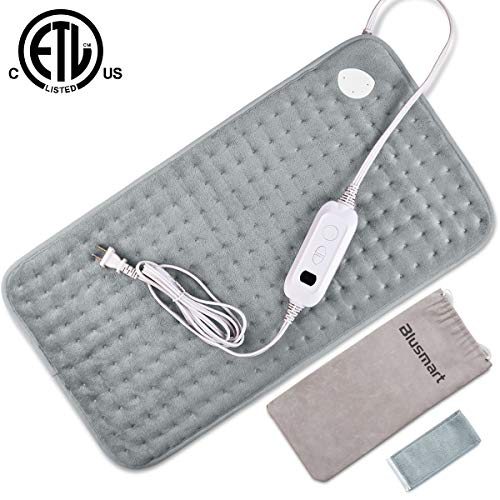 Blusmart Super Soft Electric Heating Pad with Fast-Heating T
